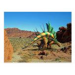 Dinosaurio del Kentrosaurus Tarjeta Postal