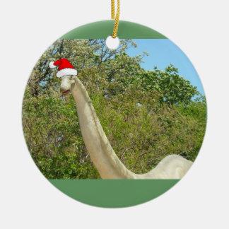 Dinosaurio del navidad adorno para reyes