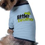 dinosaurio del pequeño hermano nuevo camisas de perritos