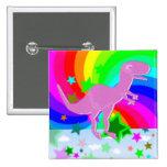 Dinosaurio del pixel de T-Rex Pins