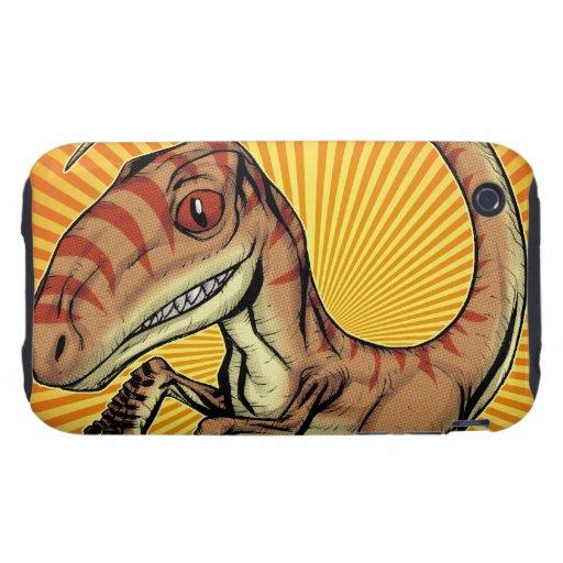 Dinosaurio del rapaz del Velociraptor de Marco D C iPhone 3 Tough Protector