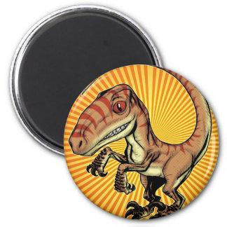 Dinosaurio del rapaz del Velociraptor de Marco D C Iman De Frigorífico