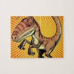 Dinosaurio del rapaz del Velociraptor de Marco D C Puzzles