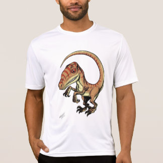 Dinosaurio del rapaz del Velociraptor de Marco D Playera