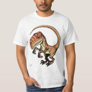 Dinosaurio del rapaz del Velociraptor de Marco D Playeras