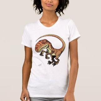 Dinosaurio del rapaz del Velociraptor de Marco D Remera