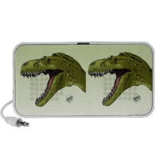 Dinosaurio del rugido T-Rex de Geraldo Borges Sistema Altavoz