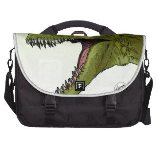 Dinosaurio del rugido T-Rex de Geraldo Borges Bolsas Para Ordenador