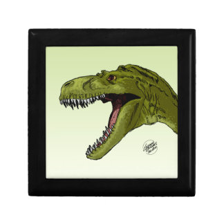 Dinosaurio del rugido T-Rex de Geraldo Borges Caja De Regalo
