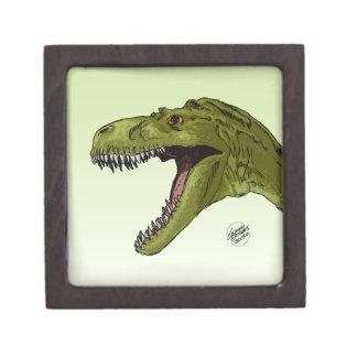 Dinosaurio del rugido T-Rex de Geraldo Borges Cajas De Regalo De Calidad