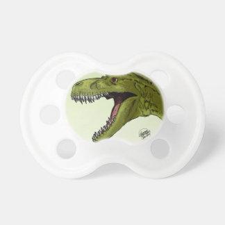 Dinosaurio del rugido T-Rex de Geraldo Borges Chupete De Bebé