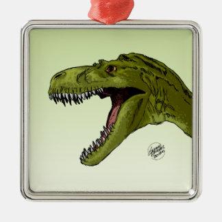 Dinosaurio del rugido T-Rex de Geraldo Borges Ornamentos De Reyes Magos