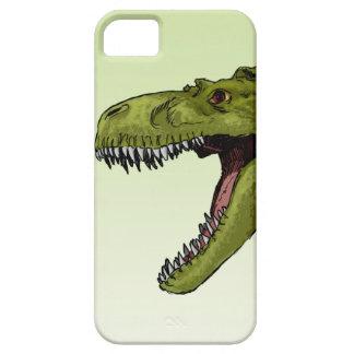 Dinosaurio del rugido T-Rex de Geraldo Borges iPhone 5 Fundas