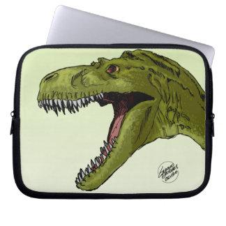 Dinosaurio del rugido T-Rex de Geraldo Borges Fundas Portátiles
