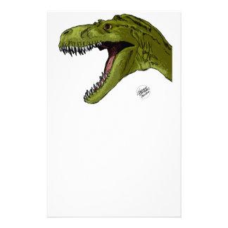 Dinosaurio del rugido T-Rex de Geraldo Borges Papelería Personalizada