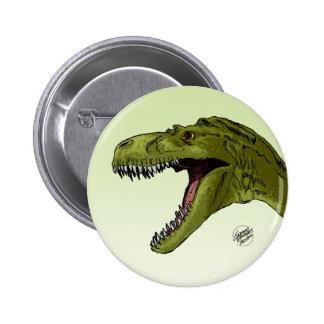 Dinosaurio del rugido T-Rex de Geraldo Borges Pin