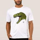 Dinosaurio del rugido T-Rex de Geraldo Borges Camiseta