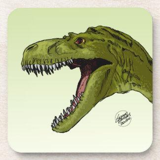 Dinosaurio del rugido T-Rex de Geraldo Borges Posavasos