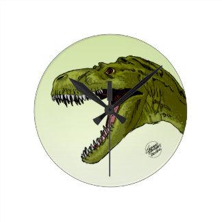 Dinosaurio del rugido T-Rex de Geraldo Borges Reloj