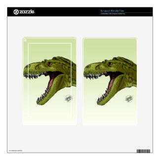 Dinosaurio del rugido T-Rex de Geraldo Borges Pegatina Skin Para Kindle Fire