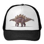 Dinosaurio del Stegosaurus de la gorra de béisbol