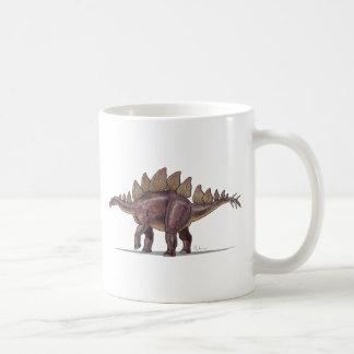 Dinosaurio del Stegosaurus de la taza