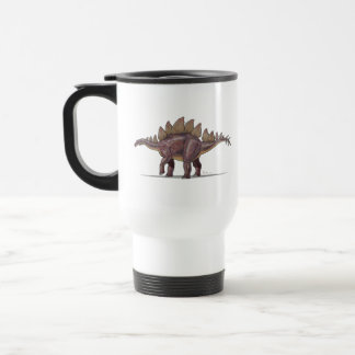 Dinosaurio del Stegosaurus de la taza del viaje