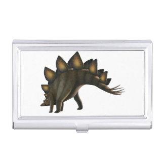 Dinosaurio del Stegosaurus, ilustraciones del Cajas De Tarjetas De Visita
