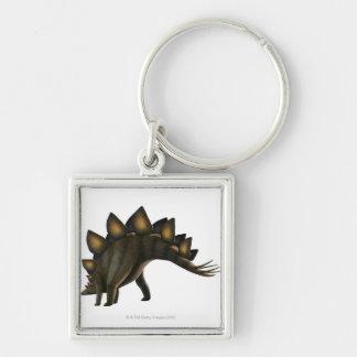 Dinosaurio del Stegosaurus ilustraciones del orde Llaveros Personalizados