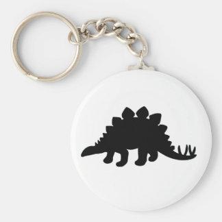 Dinosaurio del Stegosaurus Llaveros Personalizados