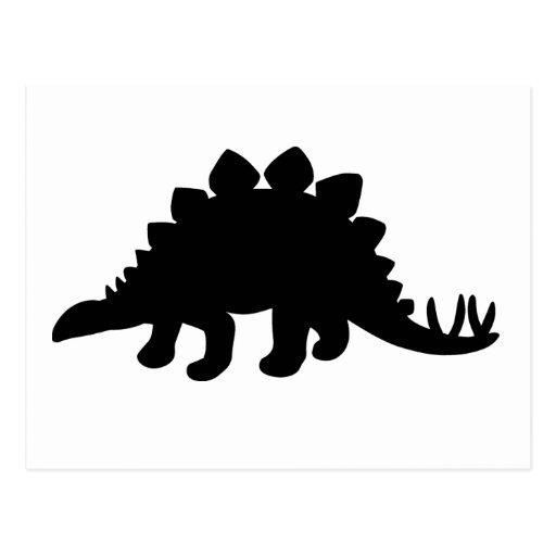 Dinosaurio del Stegosaurus Tarjeta Postal