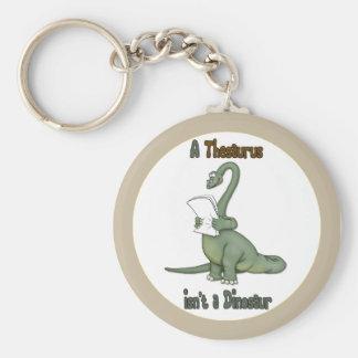 Dinosaurio del tesauro llaveros personalizados