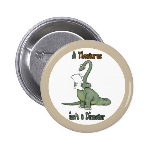 Dinosaurio del tesauro pin
