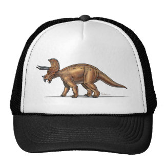 Dinosaurio del Triceratops de la gorra de béisbol