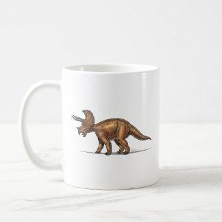 Dinosaurio del Triceratops de la taza
