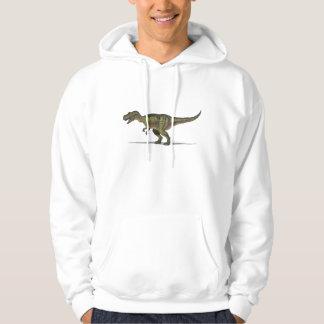 Dinosaurio del Tyrannosaurus de la sudadera con