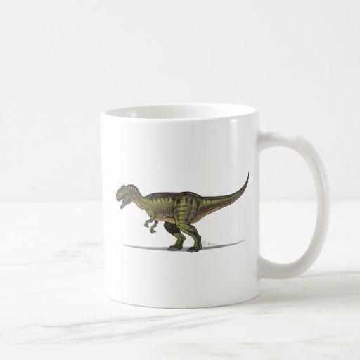 Dinosaurio del Tyrannosaurus de la taza