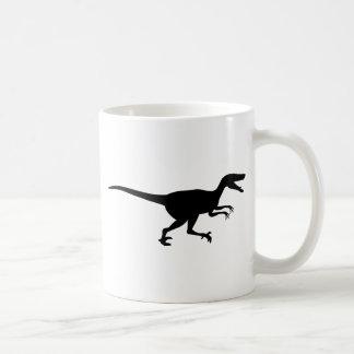 Dinosaurio del Velociraptor Taza
