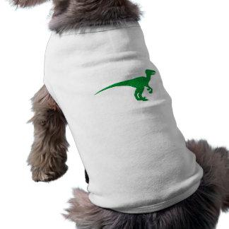 Dinosaurio Dino portería de rap Playera Sin Mangas Para Perro