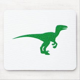 Dinosaurio Dino portería de rap Alfombrillas De Ratón