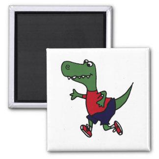 Dinosaurio divertido de T-rex que activa Iman