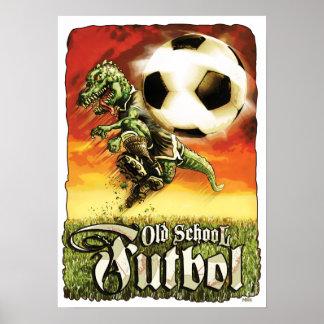Dinosaurio Futbol del fútbol Impresiones