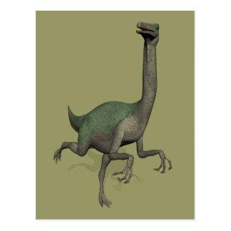 Dinosaurio Gallimimus de Dino Postales