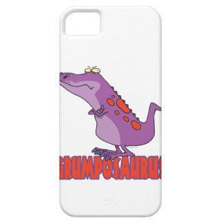 Dinosaurio gruñón Dino de Grumposaurus Funda Para iPhone SE/5/5s