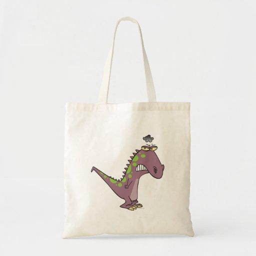 dinosaurio gruñón triste tonto Dino Bolsa