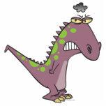 dinosaurio gruñón triste tonto Dino Escultura Fotografica