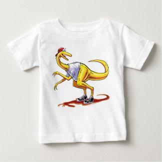 Dinosaurio infantil del dibujo animado de Compy de Camisas