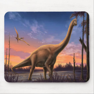 Dinosaurio jurásico Mousepad