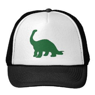 Dinosaurio largo del cuello gorros bordados