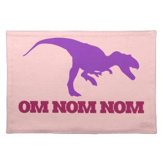 Dinosaurio lindo de Omnom Manteles Individuales